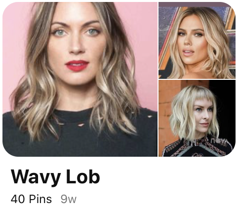 Wavy Lob It Girl Hair Gallery
